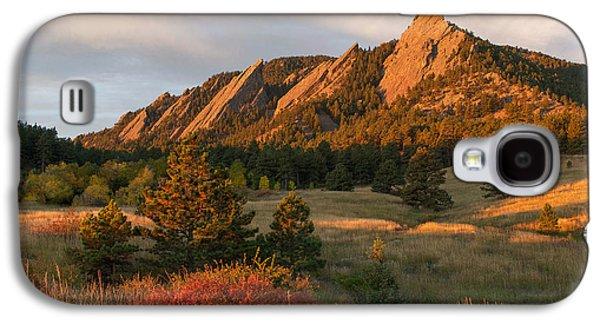 The Flatirons - Autumn Galaxy S4 Case