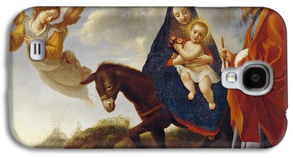 The Flight Into Egypt Galaxy S4 Case by Carlo Dolci