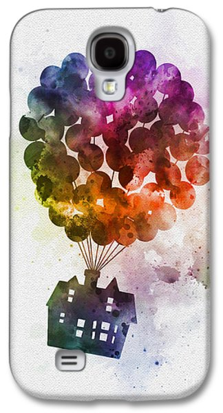 The Floating House Galaxy S4 Case by Rebecca Jenkins