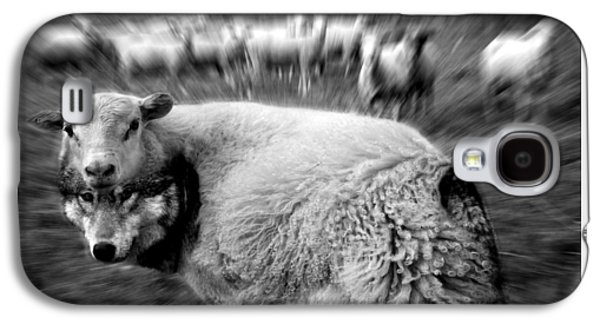 The Flock Is Safe Grayscale Galaxy S4 Case by Marian Voicu