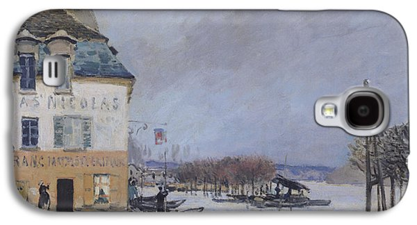 The Flood At Port Marly Galaxy S4 Case by Alfred Sisley