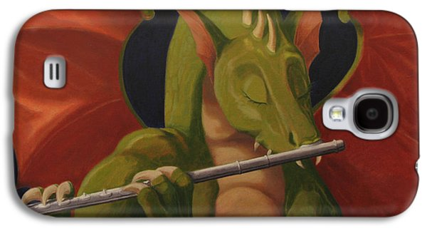 The Flute Player Galaxy S4 Case