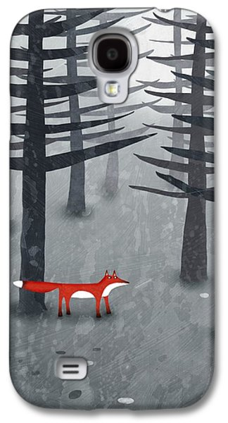 The Fox And The Forest Galaxy S4 Case by Nic Squirrell