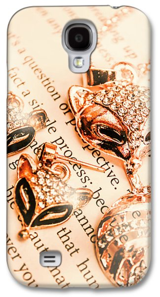The Fox Tale Galaxy S4 Case by Jorgo Photography - Wall Art Gallery