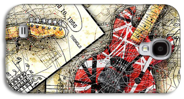 Van Halen Galaxy S4 Case - The Frankenstrat by Gary Bodnar