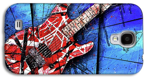 Van Halen Galaxy S4 Case - The Frankenstrat Vii Cropped by Gary Bodnar