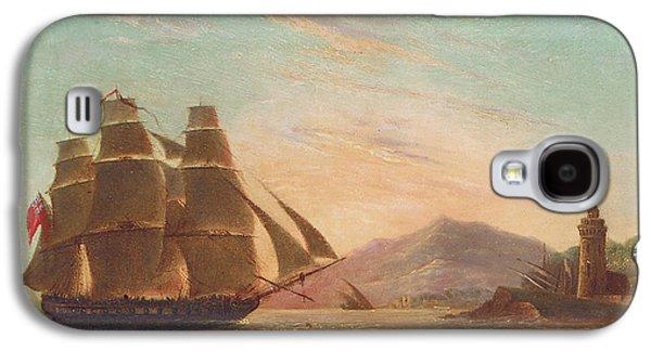 The Frigate Hms Pearl Galaxy S4 Case by English School