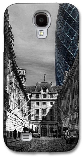 Building Framed Prints Galaxy S4 Cases - The Future Behind The Past Galaxy S4 Case by Yhun Suarez