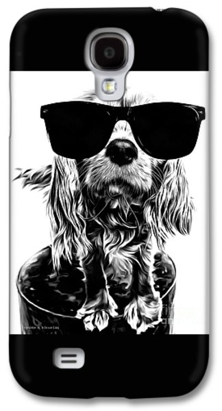 The Future's So Bright, I Gotta Wear Shades Galaxy S4 Case by Edward Fielding