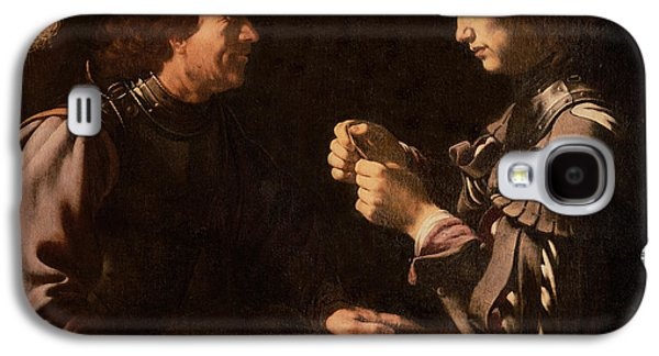 The Gamblers Galaxy S4 Case by Michelangelo Caravaggio