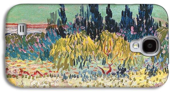 The Garden At Arles  Galaxy S4 Case by Vincent Van Gogh