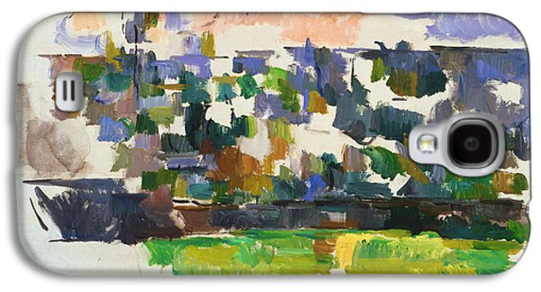 The Garden At Les Lauves Galaxy S4 Case by Paul Cezanne
