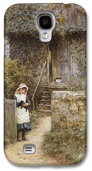 The Garden Gate Galaxy S4 Case by Helen Allingham