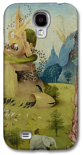 The Garden Of Earthly Delights, Detail Of Left Panel Showing Paradise Galaxy S4 Case