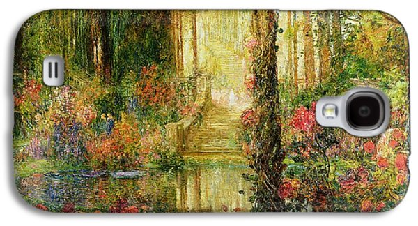 The Garden Of Enchantment Galaxy S4 Case by Thomas Edwin Mostyn