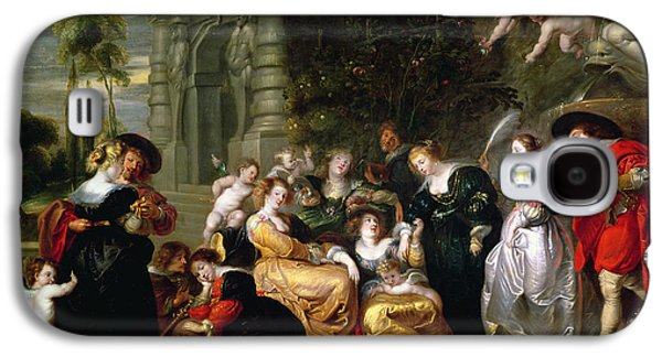 The Garden Of Love Galaxy S4 Case by Peter Paul Rubens