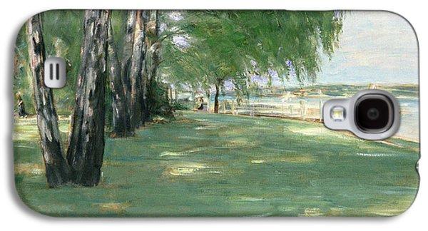 The Garden Of The Artist In Wannsee Galaxy S4 Case by Max Liebermann