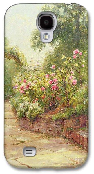 The Garden Steps   Galaxy S4 Case by Ernest Walbourn