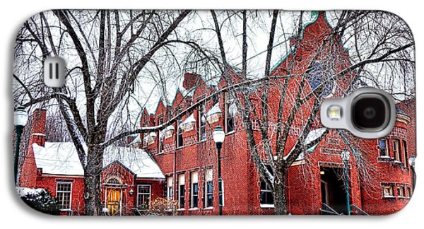 The Gardiner Library In Winter Galaxy S4 Case