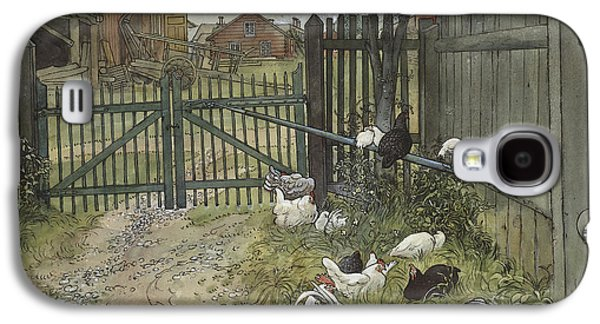 The Gate Galaxy S4 Case by Carl Larsson