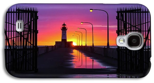 The Gates Of Dawn Galaxy S4 Case by Mary Amerman