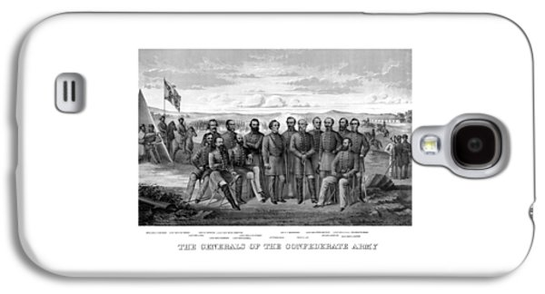 The Generals Of The Confederate Army Galaxy S4 Case