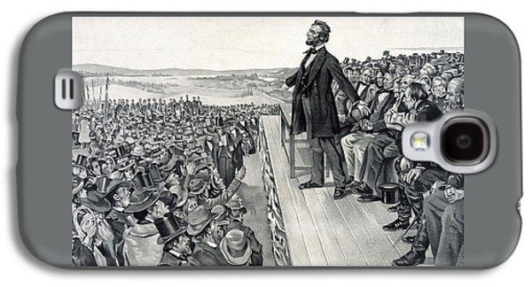The Gettysburg Address Galaxy S4 Case by American School