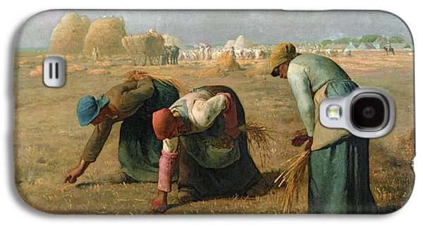The Gleaners Galaxy S4 Case by Jean Francois Millet