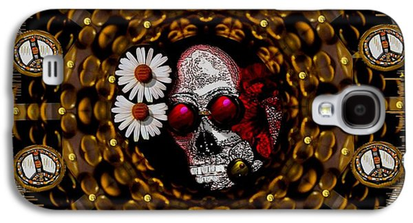 The Global Economy In Art Galaxy S4 Case by Pepita Selles