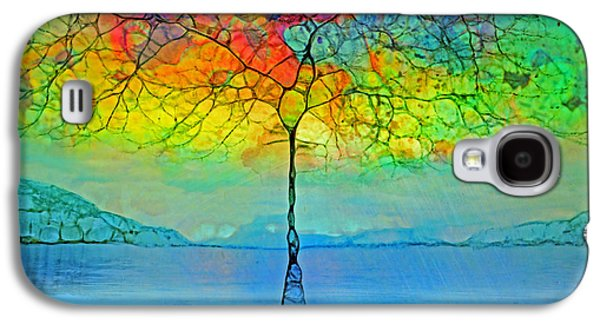 The Glow Tree Galaxy S4 Case by Tara Turner