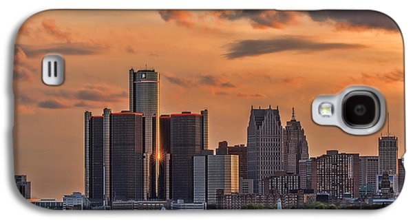 The Golden Age Of Detroit Galaxy S4 Case by Pat Eisenberger