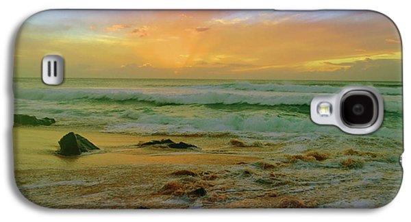 The Golden Moments On Molokai Galaxy S4 Case by Tara Turner