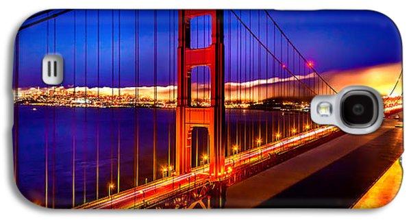International Travel Galaxy S4 Case - The Golden Path by Az Jackson