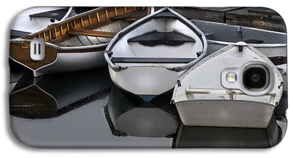 Skiffs On Placid Waters-coastal Maine Galaxy S4 Case