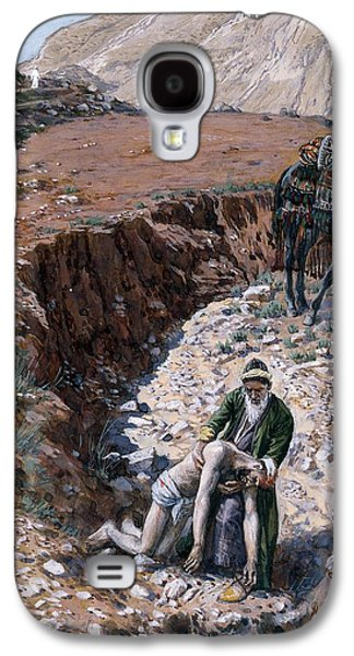 The Good Samaritan Galaxy S4 Case by Tissot
