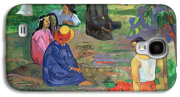 The Gossipers Galaxy S4 Case by Paul Gauguin