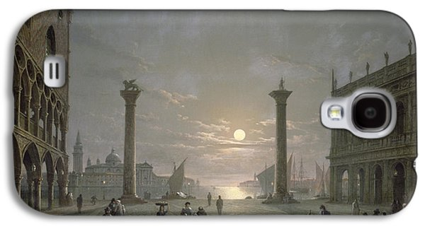 The Grand Canal From Piazza San Marco Galaxy S4 Case by Henry Pether