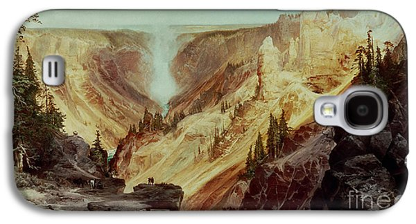 The Grand Canyon Of The Yellowstone Galaxy S4 Case by Thomas Moran