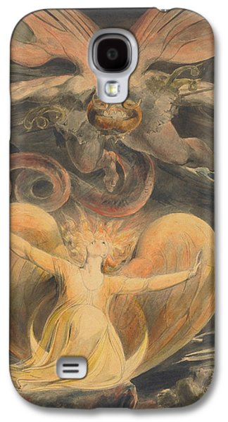 The Great Red Dragon And The Woman Clothed With The Sun Galaxy S4 Case
