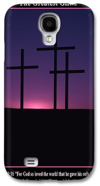 The Greatest Gift Galaxy S4 Case by Mike  Dawson