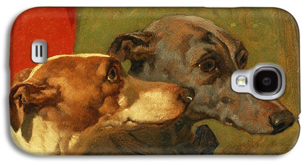 The Greyhounds Charley And Jimmy In An Interior Galaxy S4 Case
