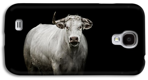Bull Galaxy S4 Case - The Guardian by Paul Neville