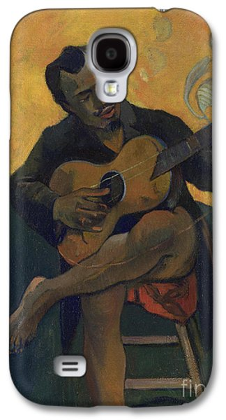 The Guitarist Galaxy S4 Case by Paul Gauguin