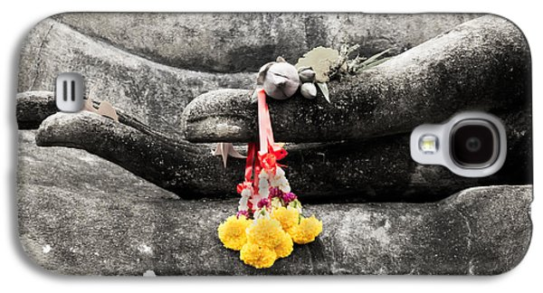 The Hand Of Buddha Galaxy S4 Case by Adrian Evans