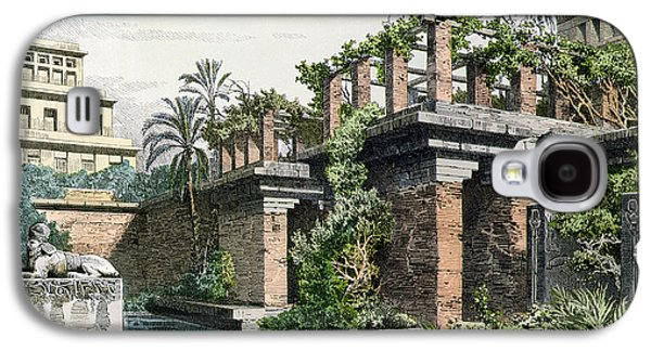 The Hanging Gardens Of Babylon Galaxy S4 Case by Ferdinand Knab