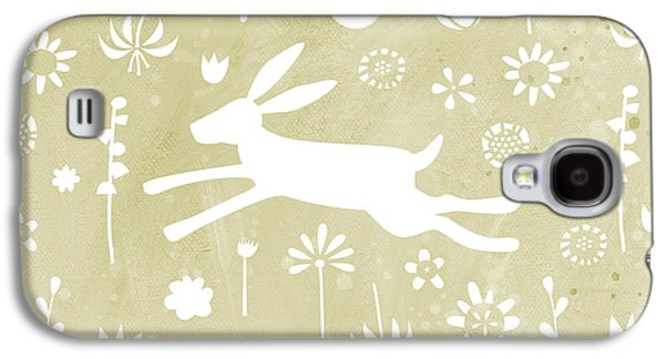 The Hare In The Meadow Galaxy S4 Case by Nic Squirrell