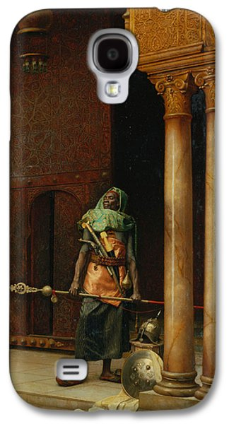 The Harem Guard  Galaxy S4 Case by Ludwig Deutsch
