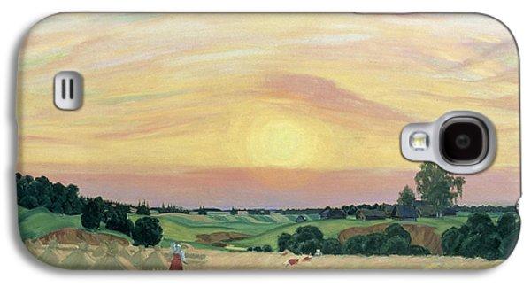 The Harvest Galaxy S4 Case by Boris Mikhailovich Kustodiev