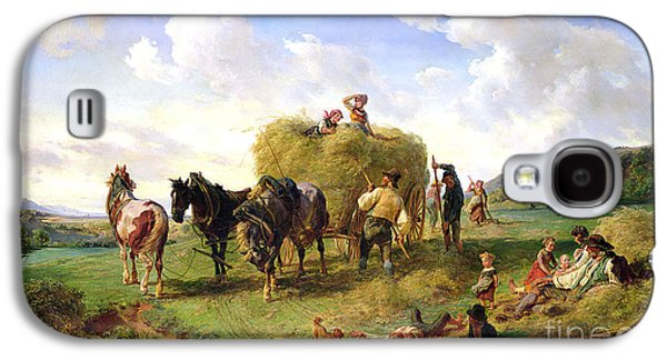 The Hay Harvest Galaxy S4 Case by Hermann Kauffmann