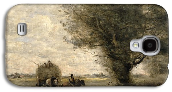The Haycart Galaxy S4 Case by Jean Baptiste Camille Corot